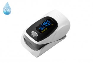Pulsioxímetro para la frecuencia cardíaca y saturación de oxígeno