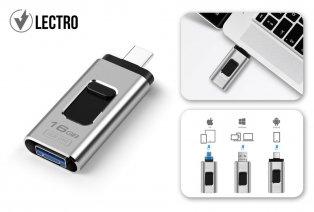 Clé USB 4 en 1 pour smartphone, tablette et ordinateur portable