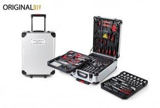 Maletín de herramientas con 320 piezas