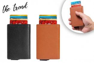 Porte-cartes avec protection anti-RFID