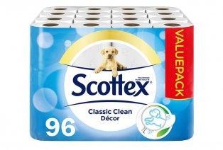 96 rouleaux de papier toilette Scottex