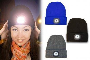 Mütze mit LED-Beleuchtung