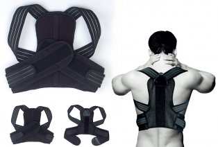 Fascia di sostegno per schiena