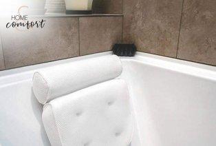 Cómoda almohada para bañera