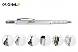 Multifunctionele 6-in-1 pen