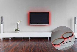 Tira LED para mayor confort frente a la tele