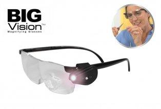 Okulary powiększające: powiększają obraz o 160%