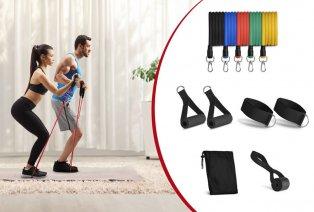 Set di fasce elastiche per il fitness