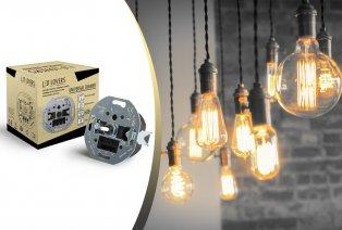 Variateur pour ampoules LED, à incandescence et halogènes