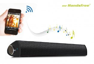 Draadloze XL soundbar en speaker