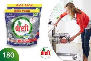 Pastillas para lavavajillas Dreft