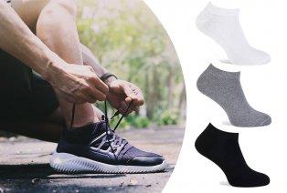 Lot de 6 ou 12 paires de socquettes Pierre Cardin