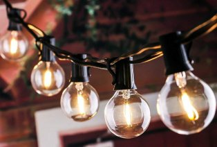 Vintage lichtsnoer