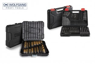 100-piece Wolfgang drill set