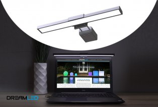 Lampe pratique pour écran d'ordinateur