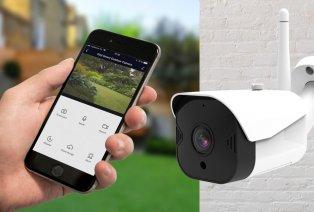 Zewnętrzna kamera HD do monitoringu z noktowizją