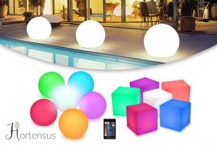 Boule ou cube lumineux LED