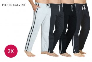 2 pantalons de jogging confortables pour hommes