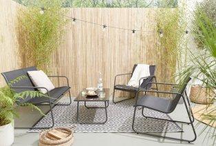Muebles de exterior para jardín o terraza