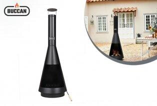 Brasero XL en forme de cheminée