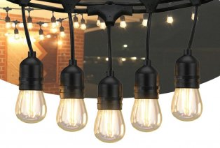 Tira de luz LED vintage