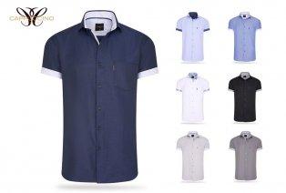 Chemises d'été Cappuccino à manches courtes
