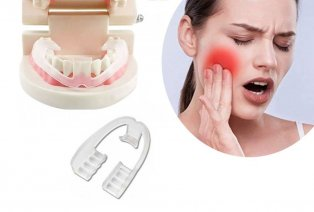 Gebissschutz gegen das Zähneknirschen