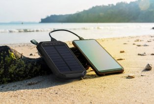 Leistungsstarke Solar-Powerbank