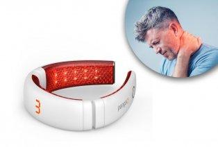 Massageapparaat voor de nek