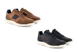 Lederen sneakers