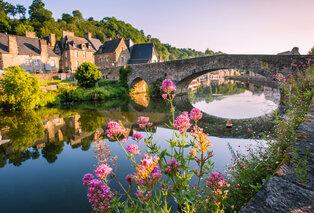 Séjour en demi-pension en Bretagne dans la jolie ville médiévale de Dinan