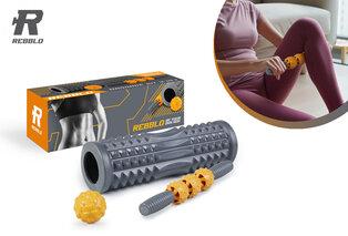 Set de rouleaux de massage
