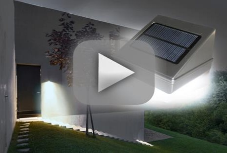 Buitenverlichting sensor zonne energie plastic abs led solar
