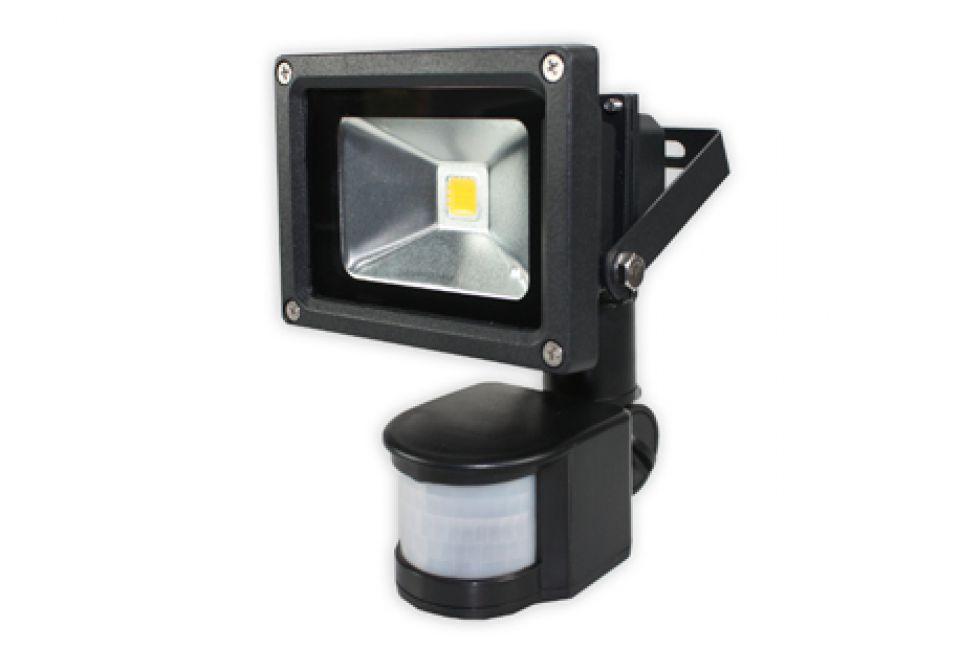 Spot led d ext rieur muni d un d tecteur de mouvement for Spot led exterieur detecteur