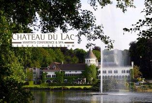 Vijfsterrenverblijf in kasteelhotel aan Meer van Genval (BE)
