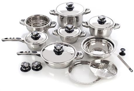 Batterie de cuisine la table des chefs 21 pi ces outspot - La table des chefs cambrai ...