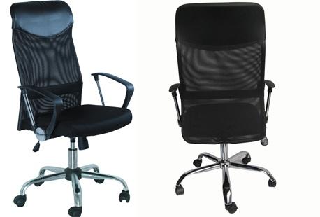 Ergonomische bureaustoel en bureau outspot