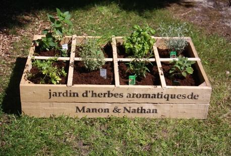 jardin d herbes aromatiques personnalisable outspot. Black Bedroom Furniture Sets. Home Design Ideas