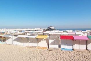 Zon, zee en strand in Blankenberge