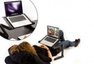 Mesa regulable para ordenador portátil