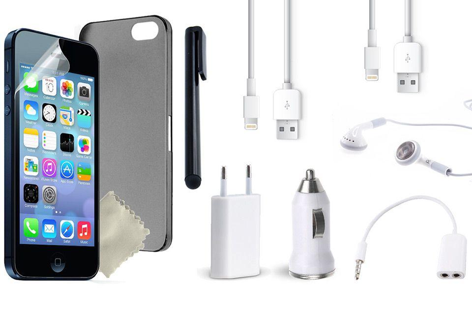 ee633ffc2c8 Pack de 10 accesorios para tu iPhone 4/5/6/6+, envío incluido