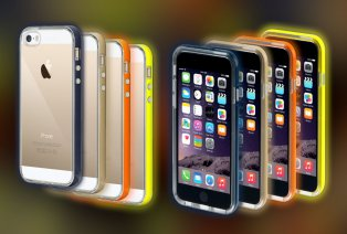 Cover luminose per iPhone