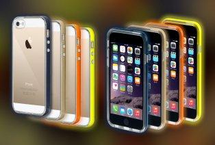 Cover luminose per iPhone