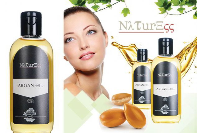 Naturess arganolie: 100 ml of 200 ml