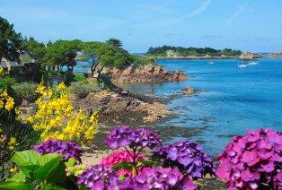 La côte bretonne