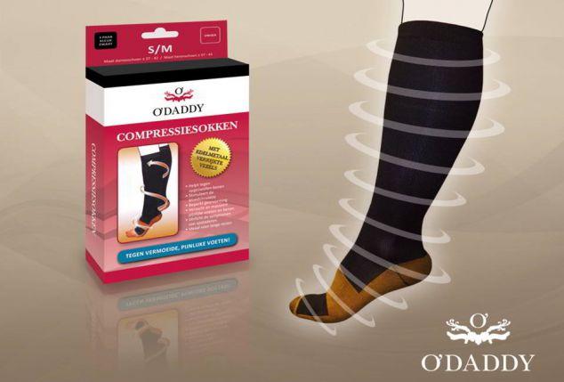 Une ou deux paires de chaussettes de compression