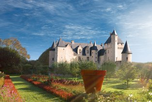 Schlösser besuchen an der Loire, Frankreich