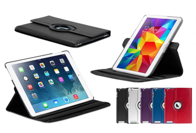 Roterende case voor iPad of Samsung tablets