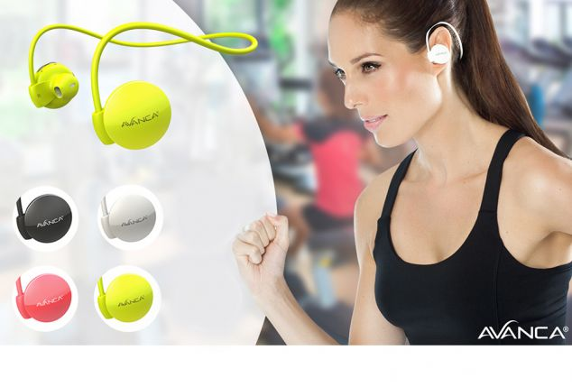 Écouteurs Bluetooth sport Avanca