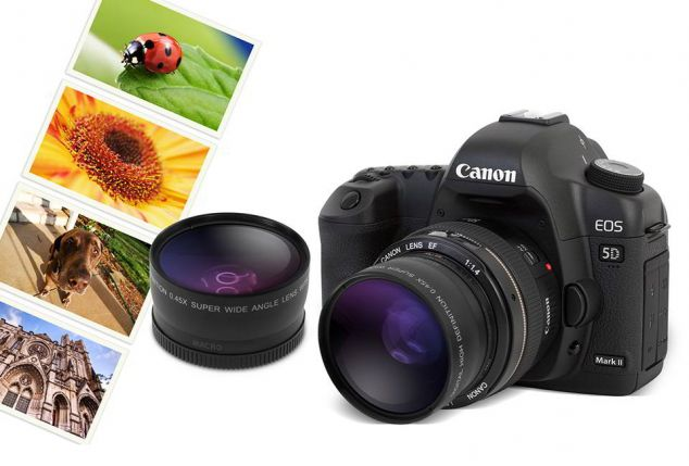 Groothoek- en macrolens 52/58 mm o.a. voor Nikon of Canon camera